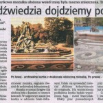 Fontanna Potop - wycinki prasowe